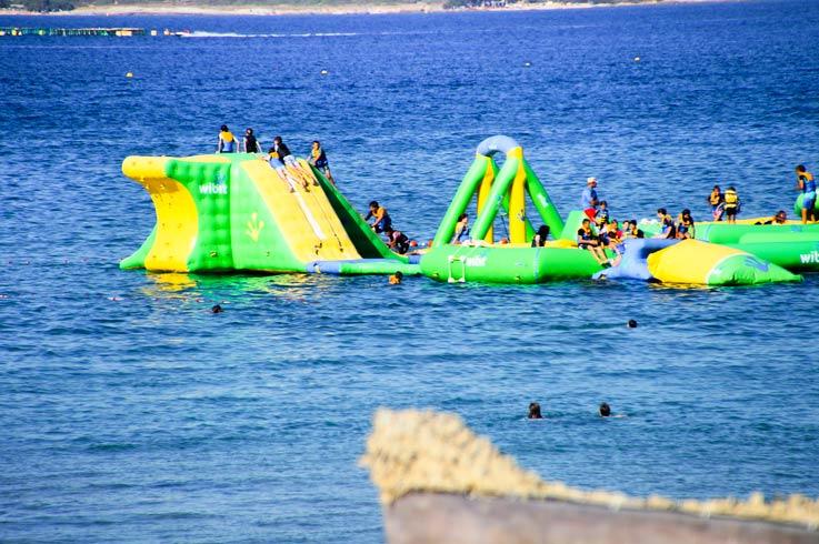 activité sur mer près camping Castor