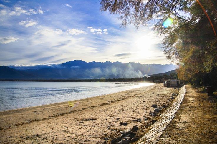site touristique Calvi près camping Corse