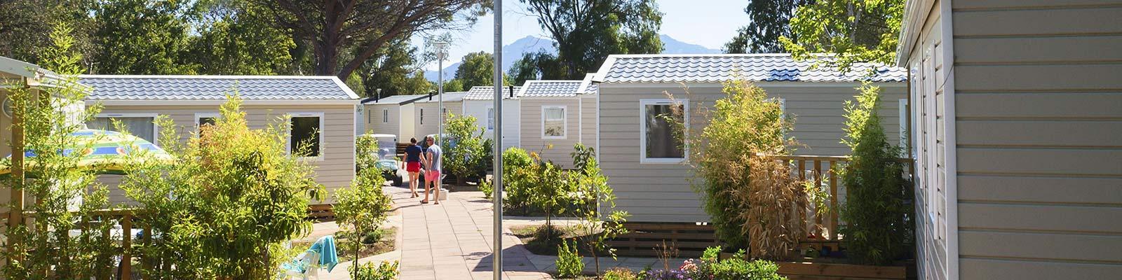 camping a calvi avec mobile homes