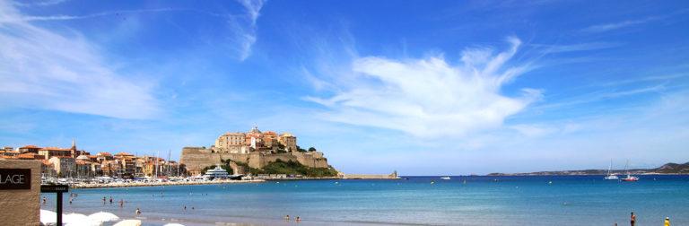 citadelle calvi plage