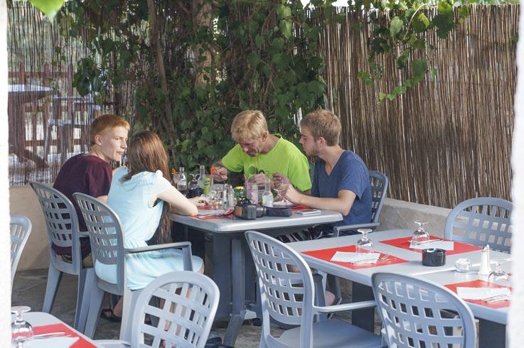 restaurant camping Calvi