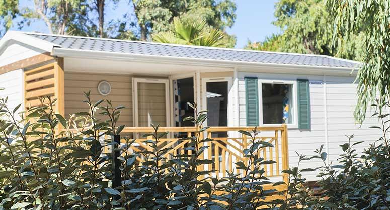 camping corse bungalow hébergement castor