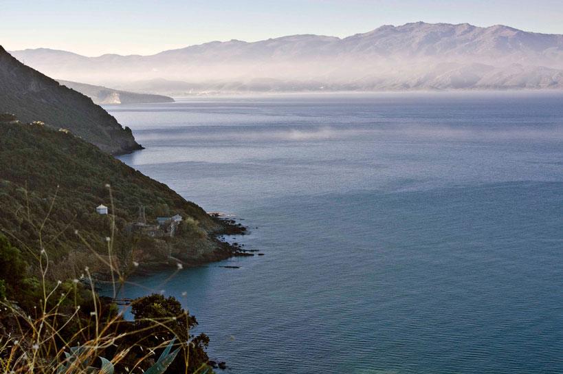 mer près camping Corse
