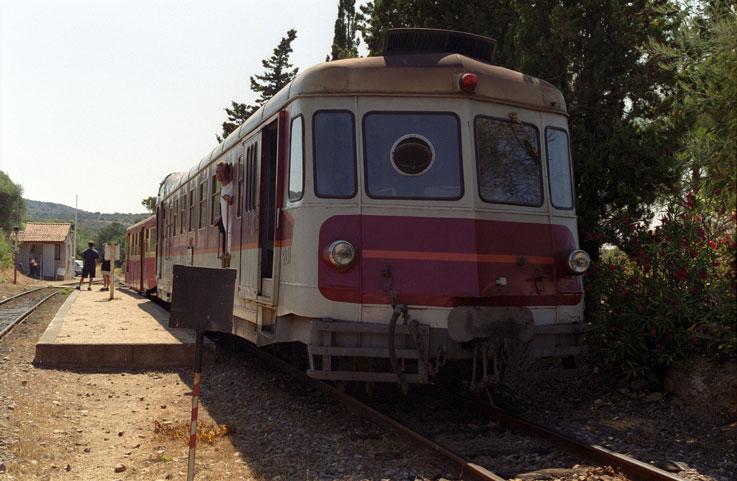 rails Sant Ambroggio près camping Corse