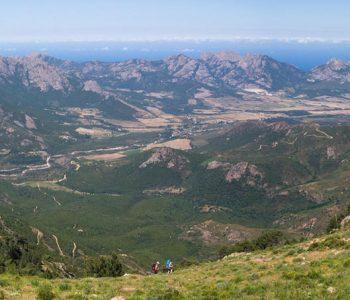 randonnées balade en camping Corse