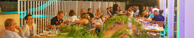 restaurant nuit camping Corse