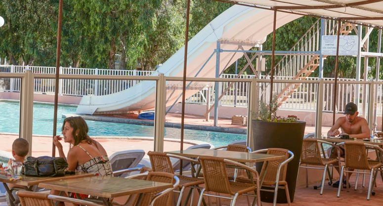 sécurité piscine camping Corse